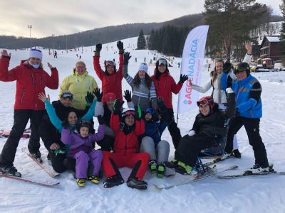 NADÁCIA AGEL podporila II. ročník Zimného kempu pre hendikepované deti